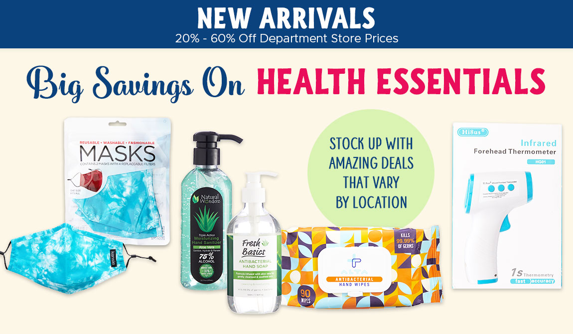 Big Savings On Health Essentials! Stock Up With Amazing Deals That Vary By Location