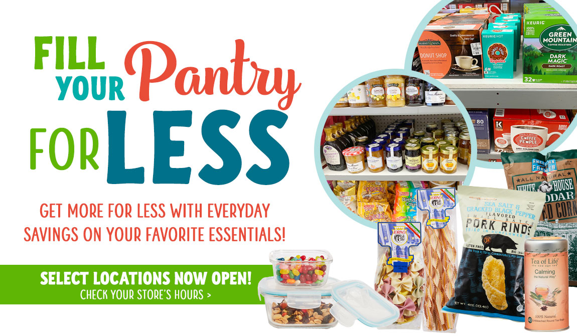 Fill Pantry for Less