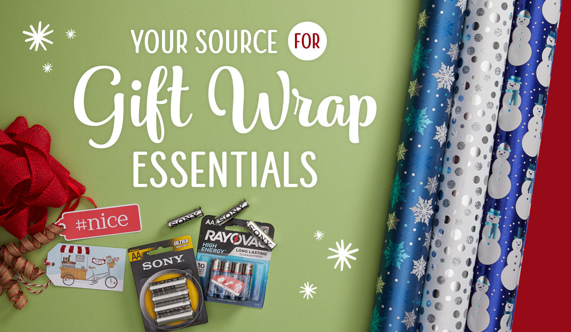 Holiday 2019 Gift Wrap Essentials