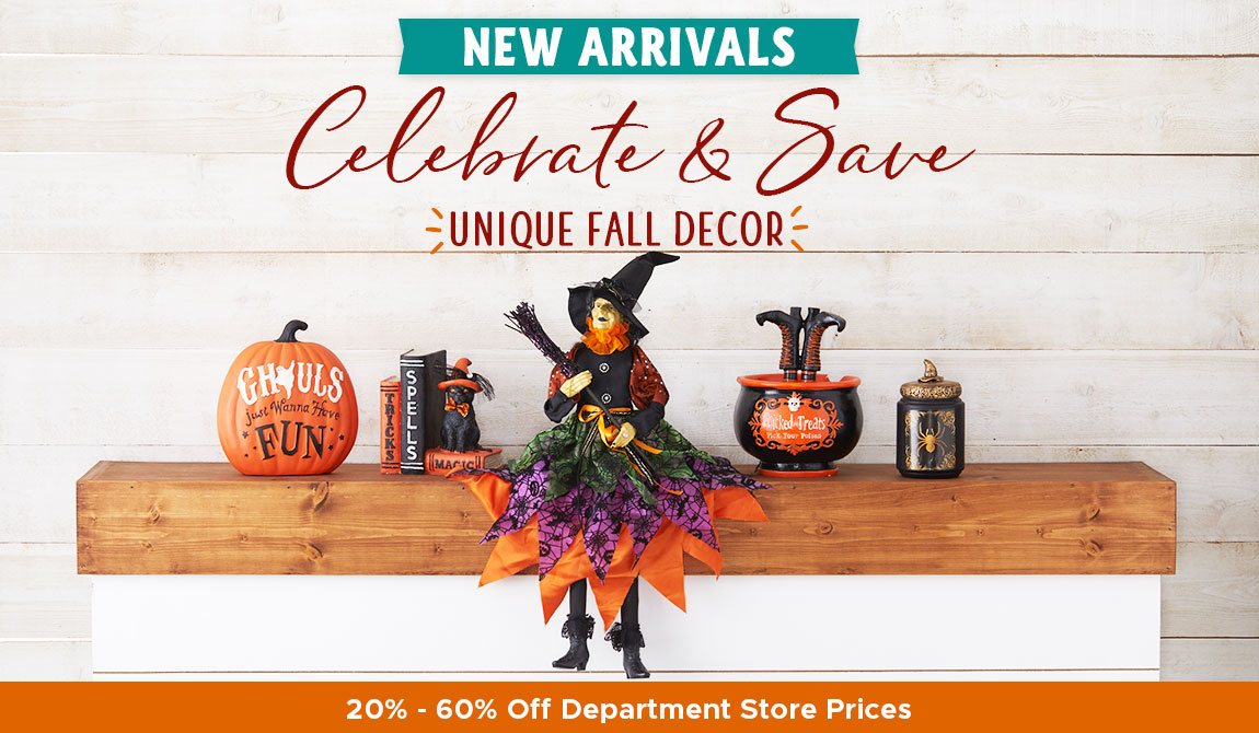 Celebrate & Save Unique Fall Decor