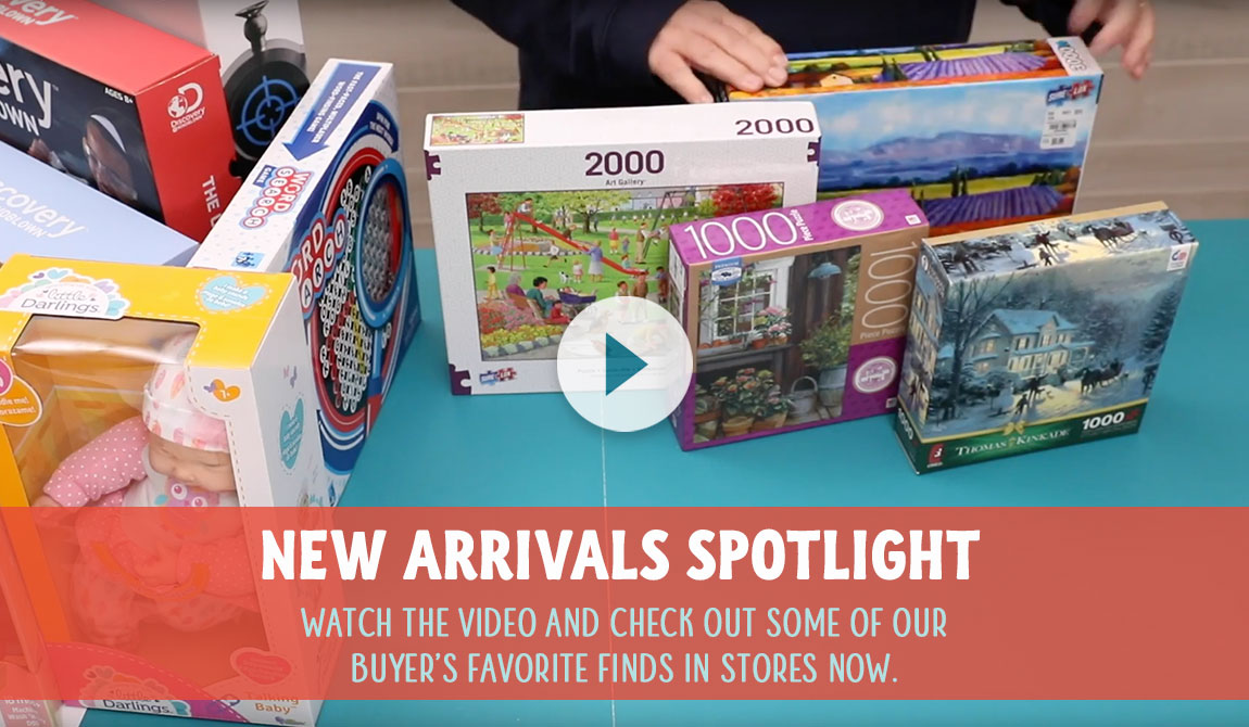 Toy New Arrivals video