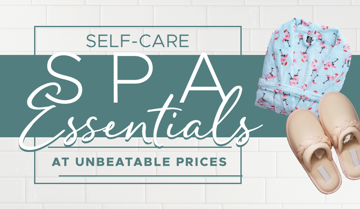 Self-Care Spa Essentials At Unbeatable Prices
