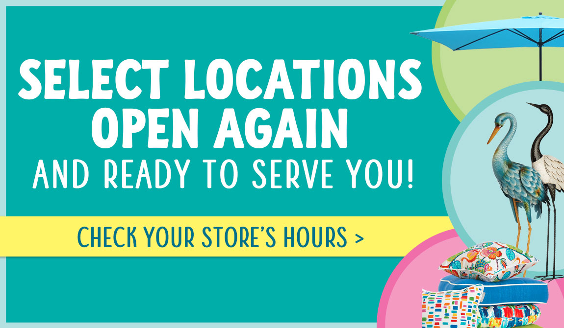 Stores Locations Open Again