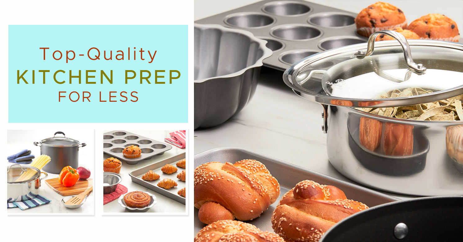 Top-quality Kitchen Prep For Less!