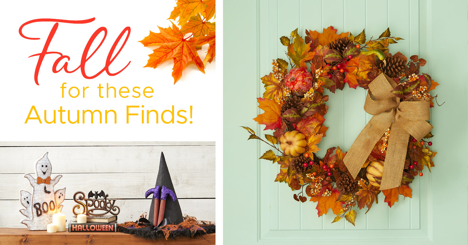 Fall for these Autumn Finds!