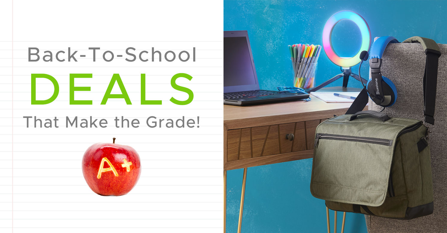 Back-To-School Deals That Make the Grade!