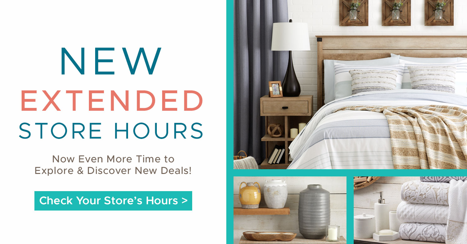 New Extended Store Hours! Now Even More time to Explore & Discover New Deals!