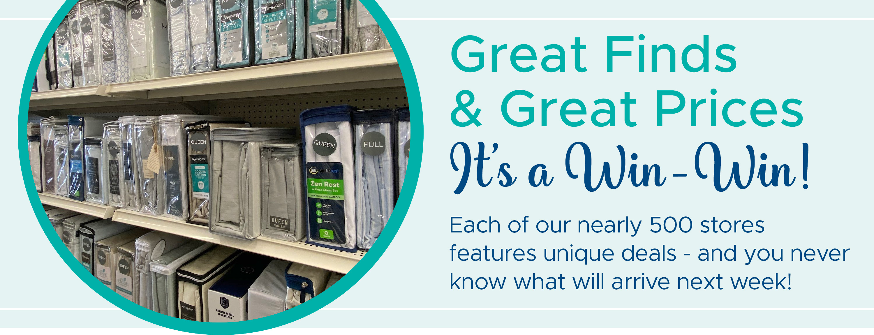 Great Finds & Great Prices - It's a Win-Win!