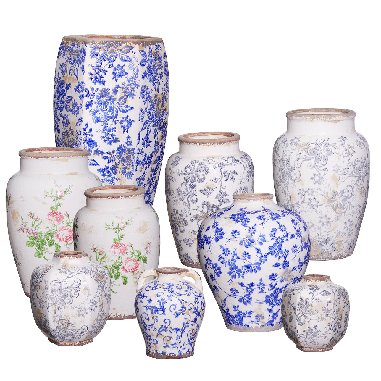 Traditional Vase Collection