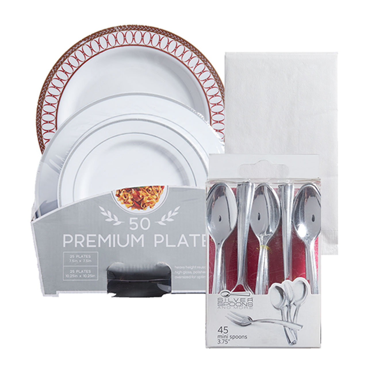 Party Packs, Cutlery and Napkins