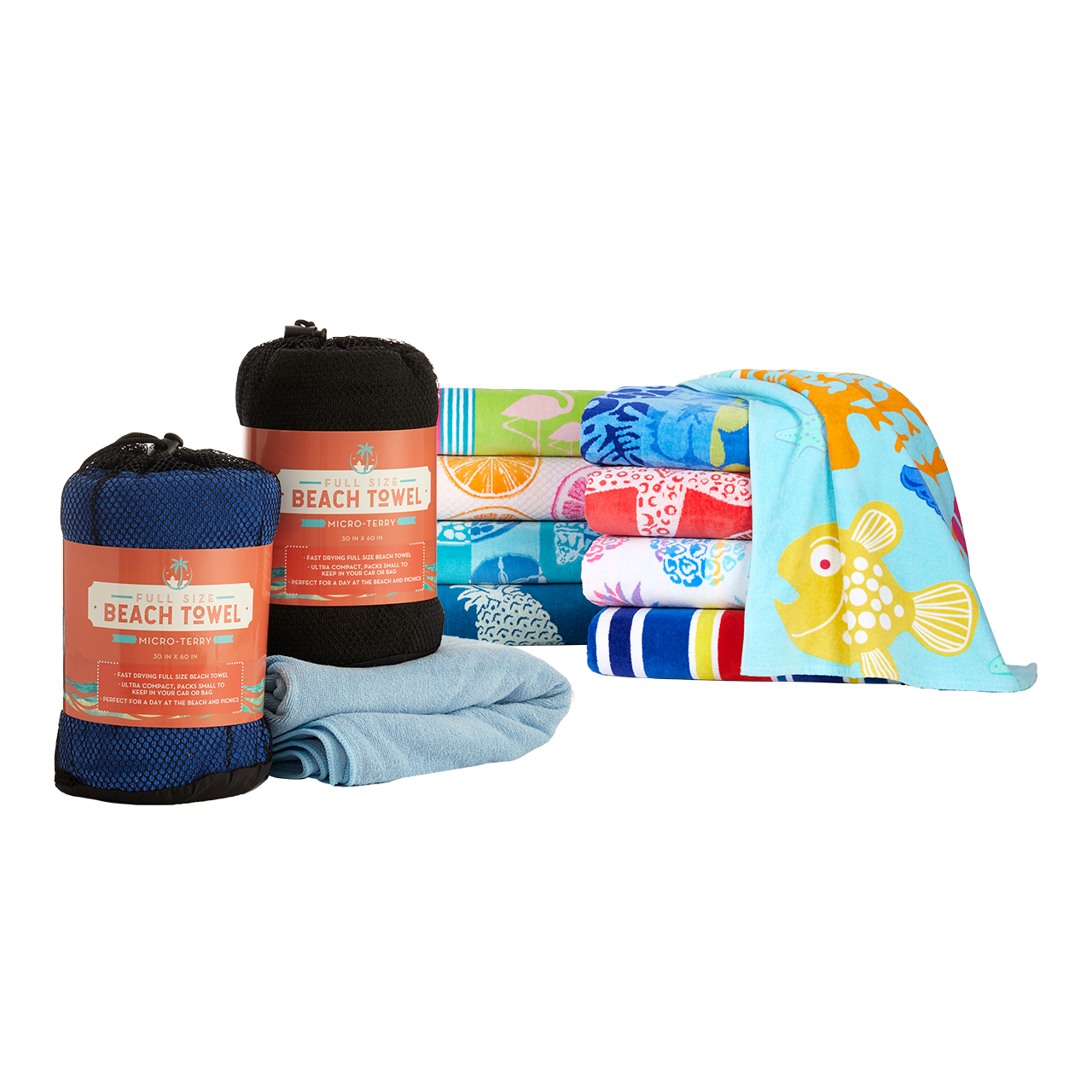 Beach Towels and Accessories