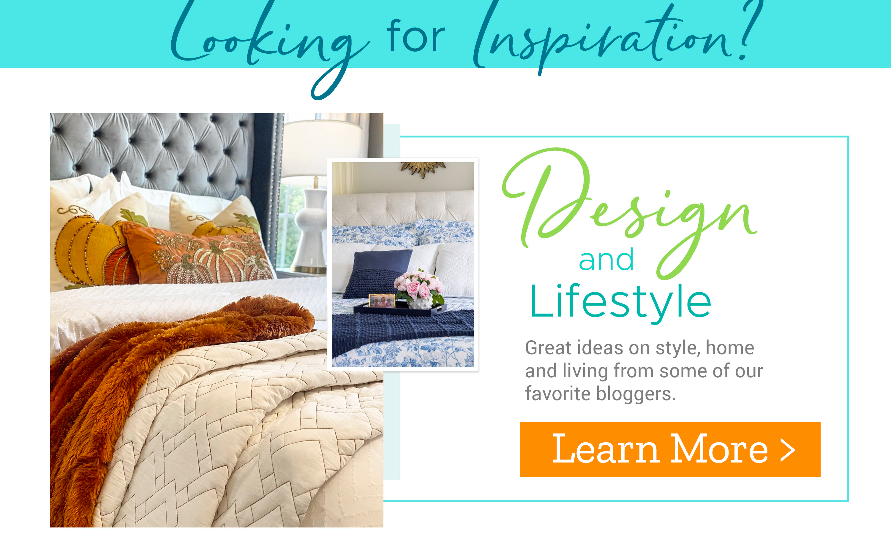 Design & Lifestyle - Learn More >