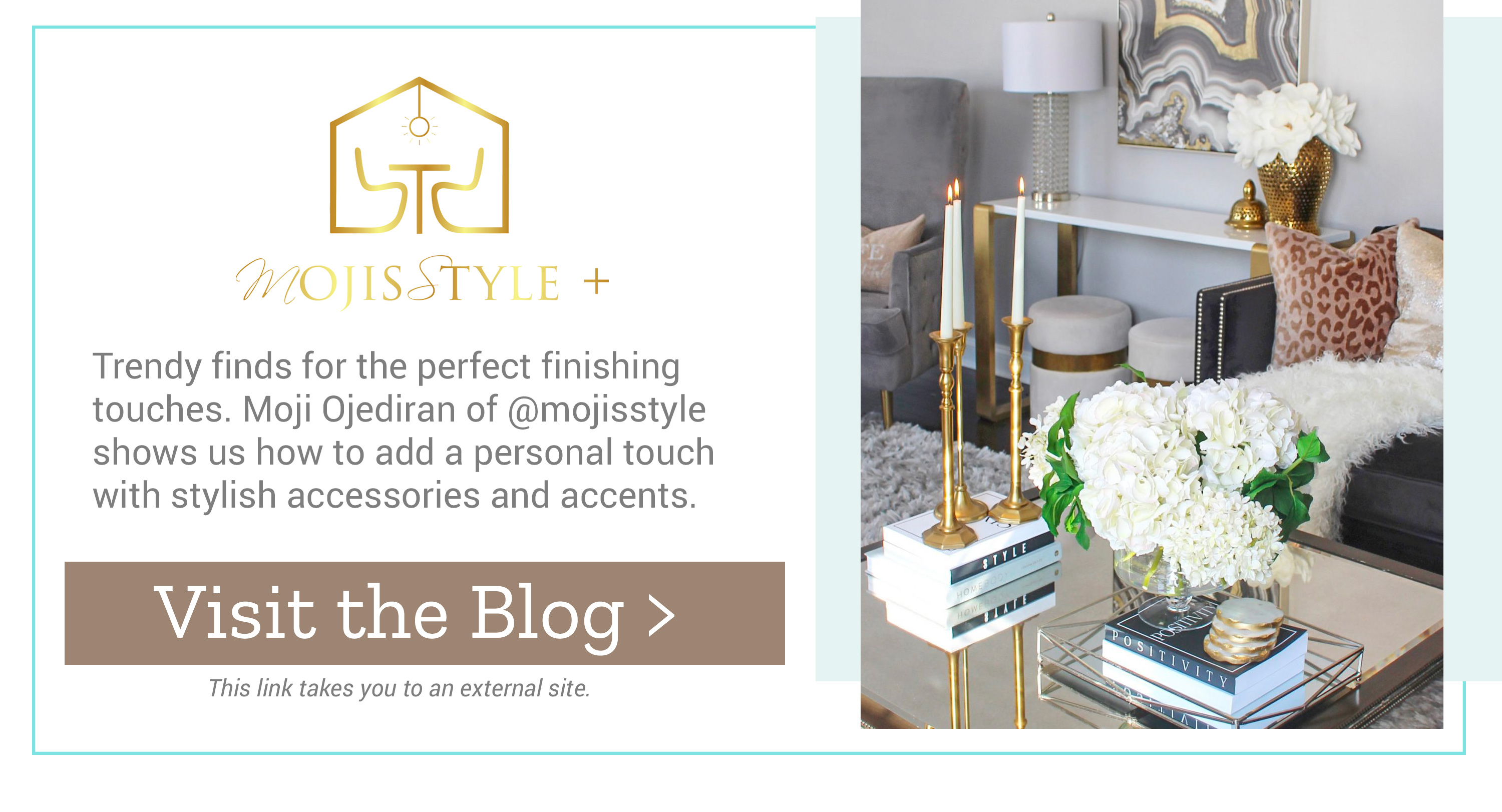 Mojisstyle - Trendy finds for the perfect finishing touches. Visit the Blog >
