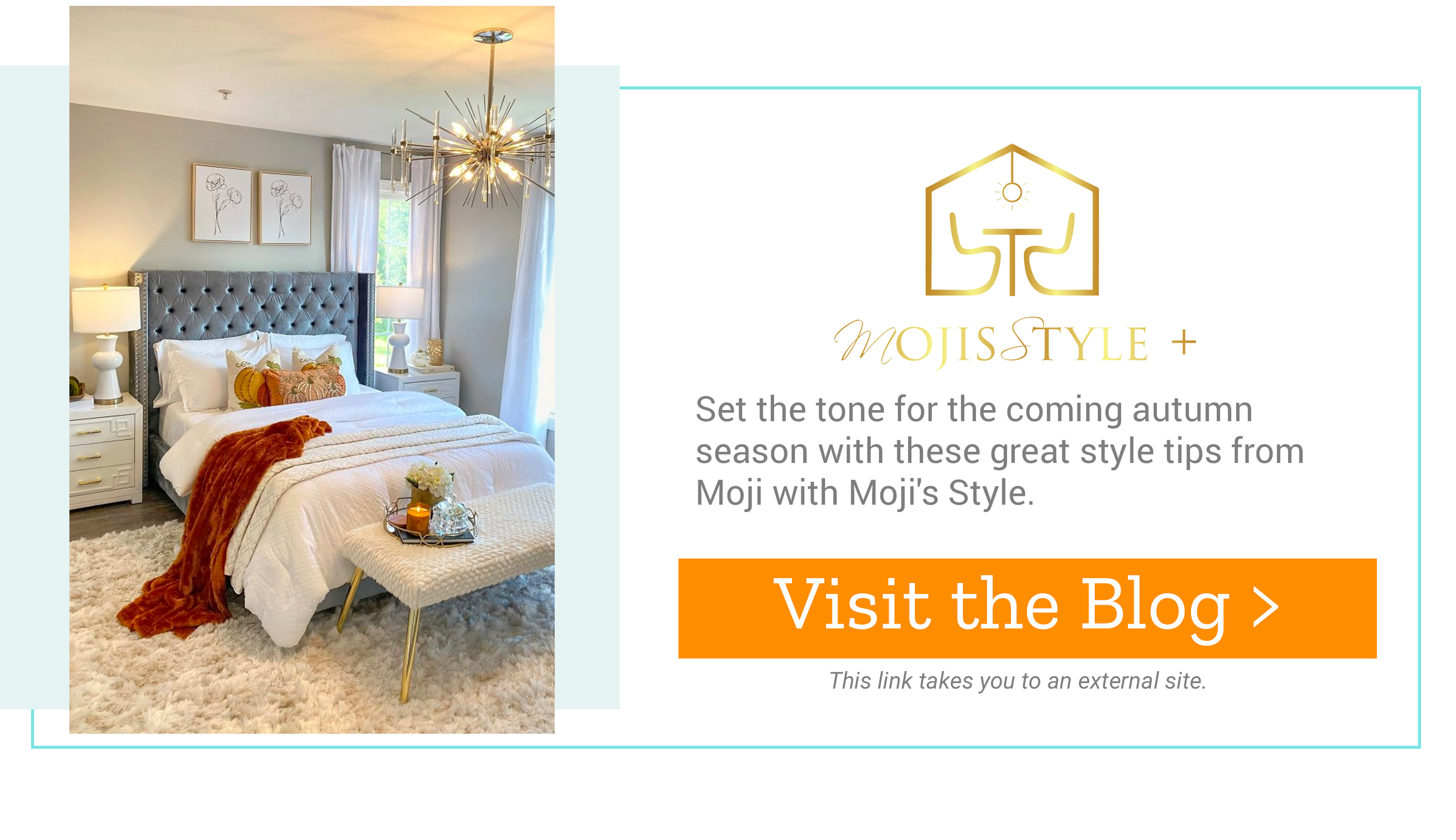 Moji's Style - Set the tone for the coming autumn season with these great style tips from Moji with Moji's Style. Visit the Blog >