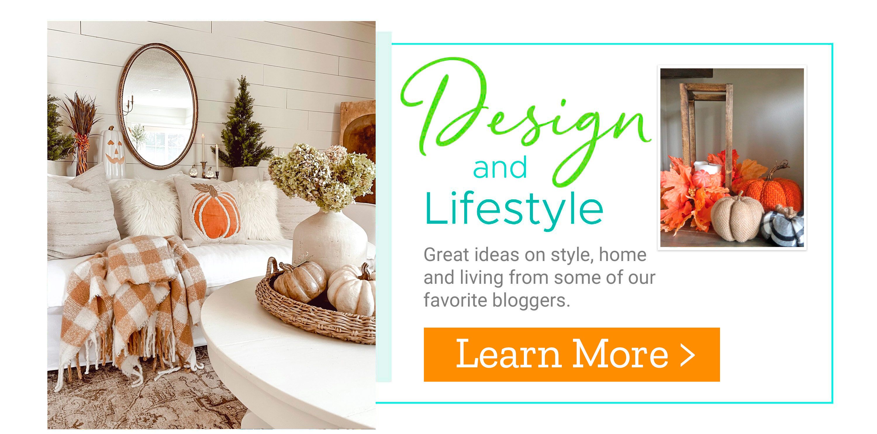 Design and Lifestyle - Great ideas on style, home and living from some of our favorite bloggers.?