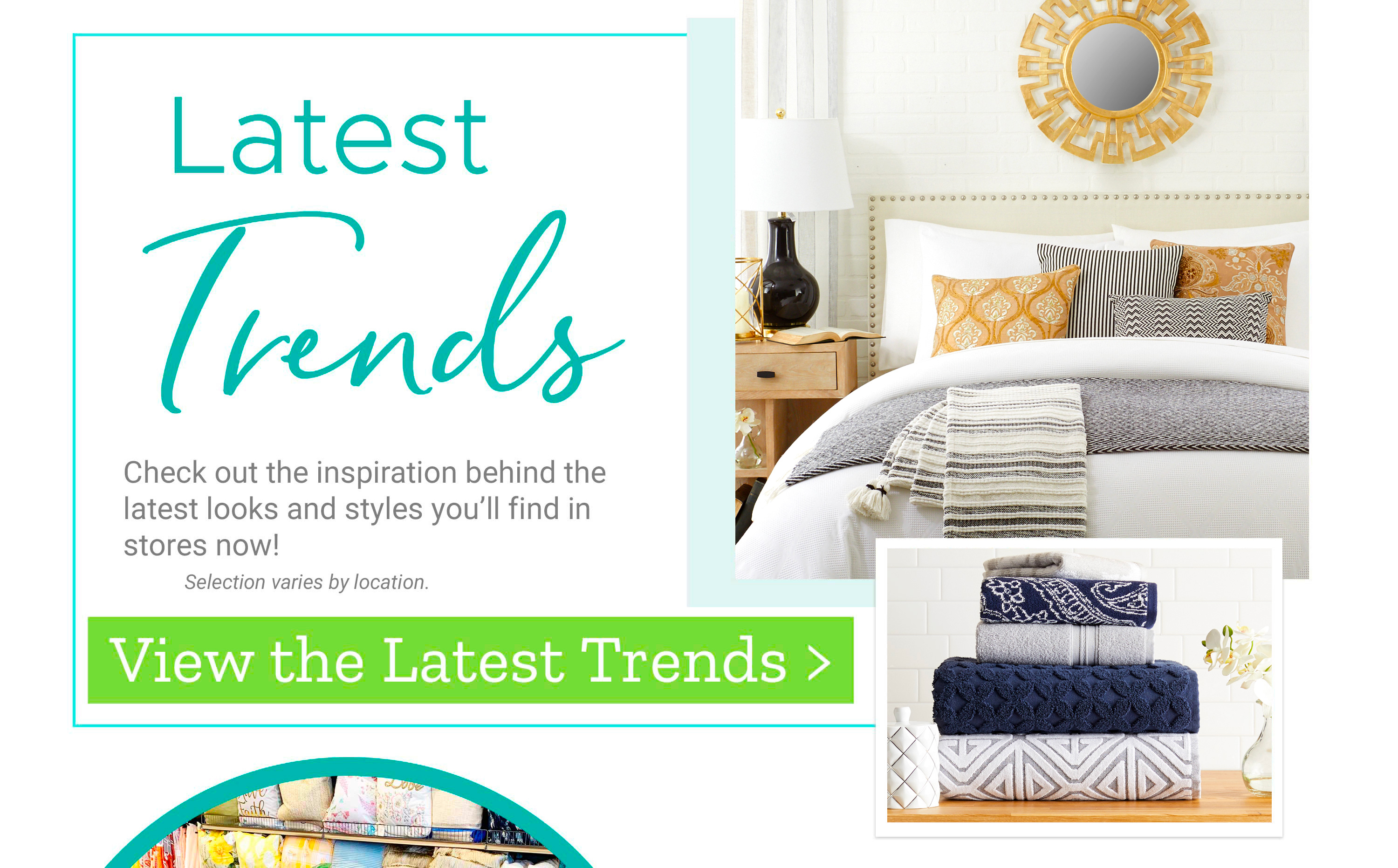 Latest Trends - Check out the inspiration behind the latest looks and styles you'll find in stores now!
