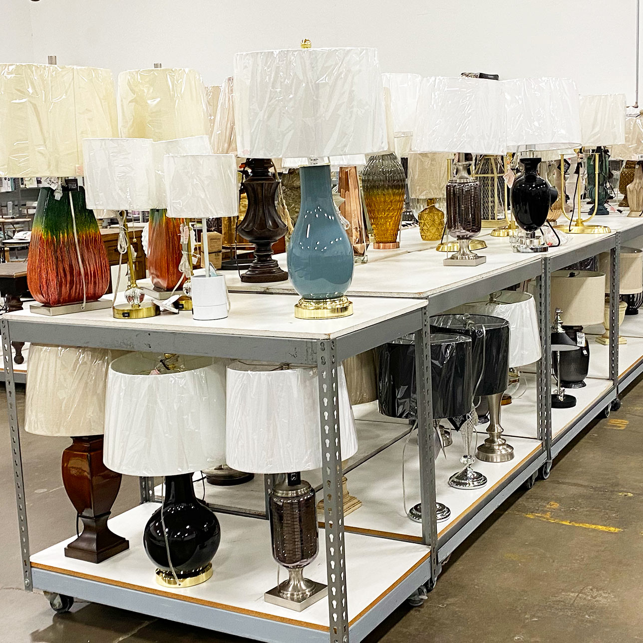 In store image update lamps