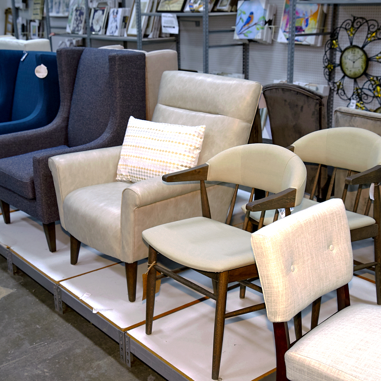 Jan. In stores now accent furniture