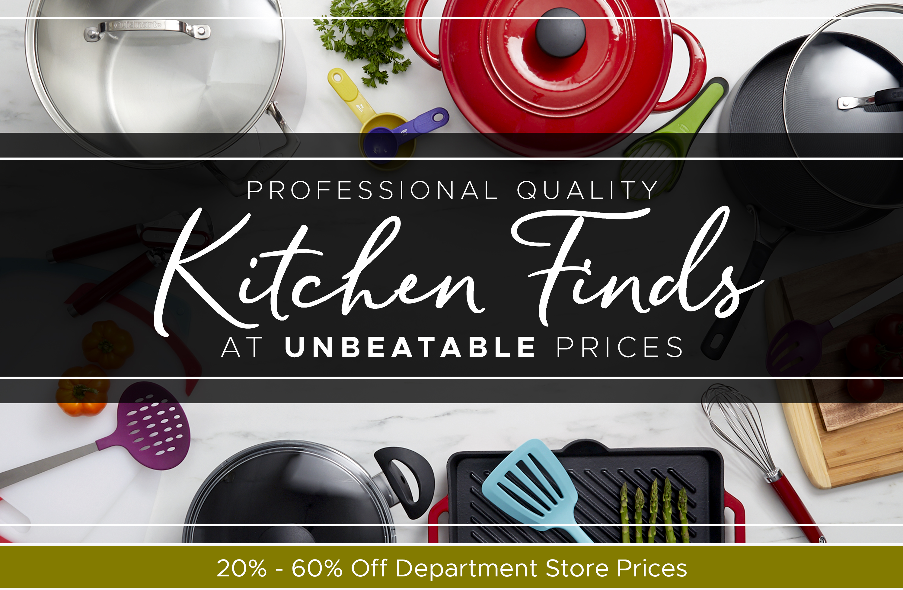 Professional Quality Kitchen Finds At Unbeatable Prices