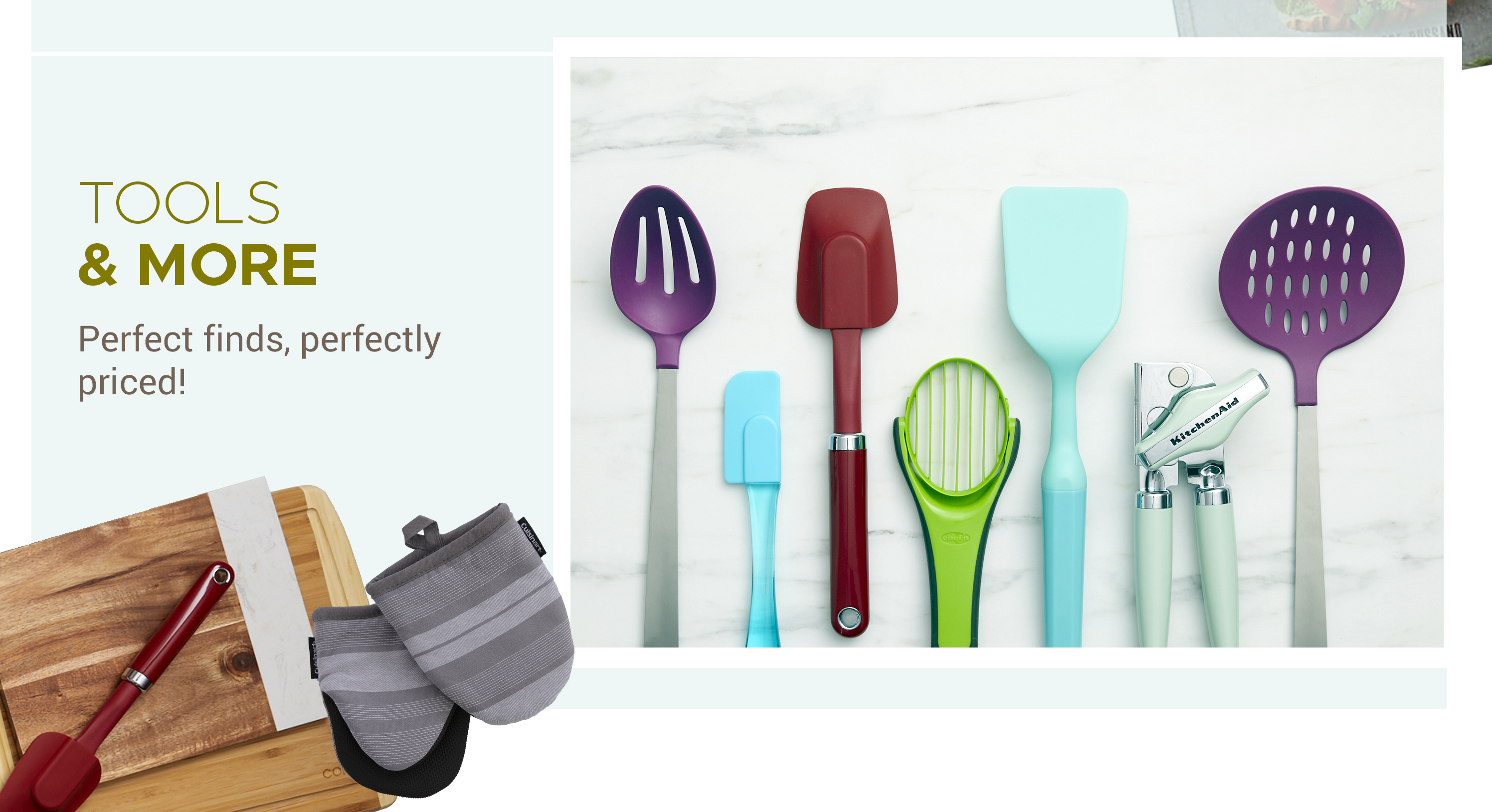Tools & More - Perfect finds, perfectly priced!